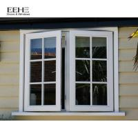 China High Strength Aluminum Casement Windows Hassle Free Cleaning Grill Design wholesale
