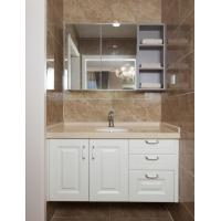 China Modern Home Furnishings Mirrored Bathroom Cabinet With Wall Cupboard wholesale