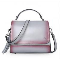 China Real Leather Tote Bags for Women Retro Single Shoulder Bags Lady Daily Handbags wholesale