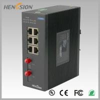 Buy cheap 8 Port fast ethernet switch 1.2Mpps Packet forwarding speed , fiber network switch from wholesalers