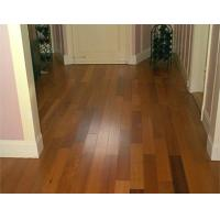 China Solid kempas Wood Floor pre lacquered wholesale