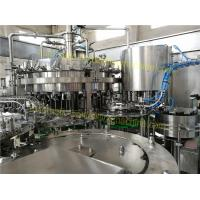 China SUS304 Material Carbonated Drink Filling Machine 6.57KW For Sparkling Water / Sprite wholesale