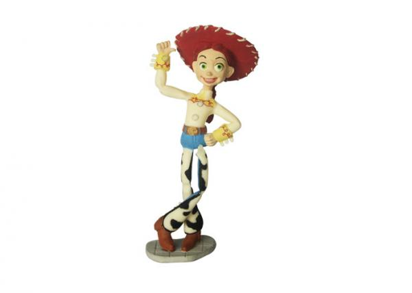 Quality EN71 Harmless Disney Toy Story Toys Action Figure TPE Model 10cm Height for sale