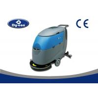 China Brush Assisted Compact Floor Auto Scrubber Machine With Dirty Water Level Sensor wholesale