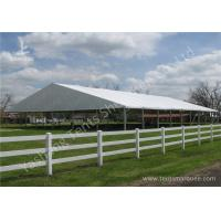 China 25x25m Outdoor Grassland Set-up Aluminum Framed Clear Span Tents Structure wholesale