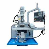 China 3 HP Power CNC Vertical Turret Milling Machine Stability With High Cutting Force on sale
