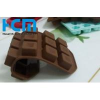 Coffee color 15 Drop diamond shape silicone ice cube trays for Home summer
