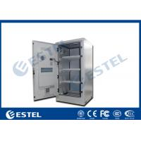 Buy cheap Aluminum Outdoor Battery Cabinet One Front Door For Telecom Station from wholesalers