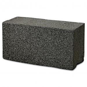 China Grill Brick, 8 x 4, Black, 12/Carton on sale