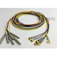 China Clinical EEG Measurement EEG Disc Electrodes Multi Color OEM / ODM Acceptable wholesale