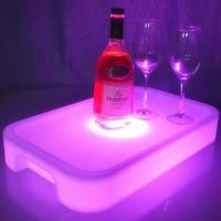 Buy cheap Plastic Lighting Fruit Bar Tray LED Ice Bucket Wholesale with Square or Round from wholesalers