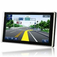 China 6 inch TFT color touch screen gps navigation with 128MB Memorty 4GB Flash wholesale