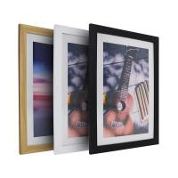 China plastic custom picture frames photo frame 8x10 16x20 wood picture frame wholesale
