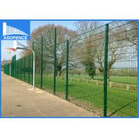 China Germany Ral6005 Double Wire Fence Powder Coated Dark Green Color wholesale