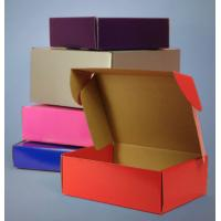Quality Strong Kraft Paper Corrugated Packaging Boxes Custom Cardboard Storage Box for sale