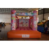 Cute Rabbit Inflatable Jump House 3x4m / Kids Small Bouncy Castle