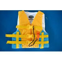 China PVC Foam Material Life Vest / Kids Life Jacket For Water Sport Games wholesale