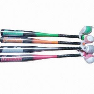 China Baseball Bats, Made of Aluminum Alloy 6061 wholesale