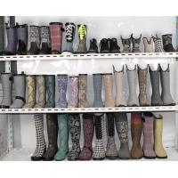 China Form Rubber Print Rain Boots for Women wholesale