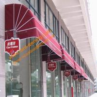 China Outdoor Manual Retractable Door Entrance Dutch Awning Window Canopy wholesale