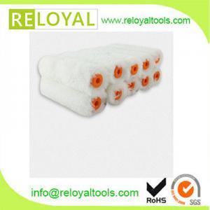 China 15082627.2  white color 10pcs set mini paint roller for painting wholesale