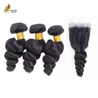 China Free Tangle Real Malaysian Hair Weave Bundles 8a 1b 8 - 32 Inch No Mixture wholesale