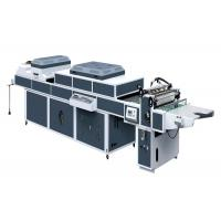 Buy cheap ZHIVE UV Coating Machine For UV Thick / Thin Paper Three Rolls One Coater SDSG from wholesalers