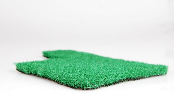 Quality Olive Green Polypropylene Artificial Grass Carpet For Courtyard 6mm Dtex2200 for sale