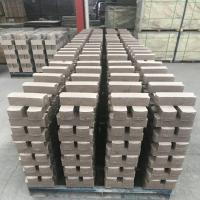 China Common Kiln Refractory Bricks , Phosphate Bonded High Alumina Bricks Heat Resistant wholesale