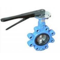 China DN 100 PN 16 water butterfly valves SS Body By Lever Operated And Seat is EPDM,304,316,WCB on sale
