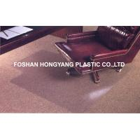 Quality Fan - shaped Non Studded Chair Mat For Hardwood Suitable and Washable for sale