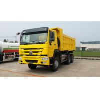 China 371HP 20CBM Heavy Duty Dump Truck With Yellow Color And HF9 Front Axle on sale