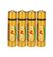 China OEM Super alkaline battery LR6 AA ISO/MSDS  4pcs/shrink wholesale