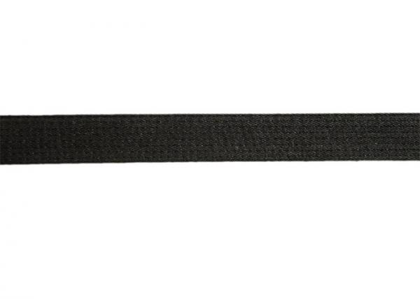 Quality Pre - Shrunk Hemp Bjj Belt , Black Brazilian Hemp Jiu Jitsu Belt for sale