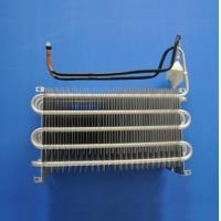 China Blue Coating Fin Tube Heat Exchanger / Finned Pipe Heat Transfer Copper Material wholesale