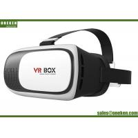 China 198 * 135 * 110mm Virtual Reality 3d Glasses , VR BOX 2.0 3d Virtual Headset wholesale