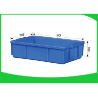 China Stackable Large Plastic Storage Containers , Light Weight Plastic Storage Crates on sale