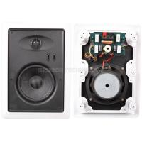 China 5.25 8ohm In Wall Stereo Speakers Rubber Speaker Surrounds For Park / Square on sale