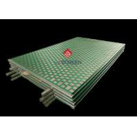 China 2000 48- 30 PWP Derrick Shaker Screens 2-3 Layers With 20-325 Mesh on sale