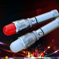 China CREE Q5 Magnetic Rotating Zoom Led Flashlight/Torch with Warning Lamp Cover/Shade wholesale