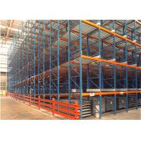 China First In First Out Gravity Flow Pallet Rack With Steel Rollers Robot Welding on sale
