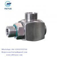China High pressure bend coolant pipe rotary union rotary coupling steam pipe fittings wholesale