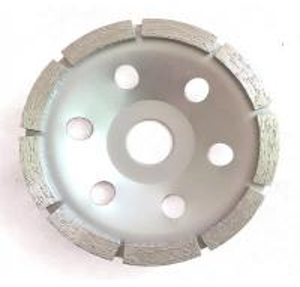 China Single Row Diamond Cup Wheel , Metal Bonded Diamond Grinding Wheels on sale