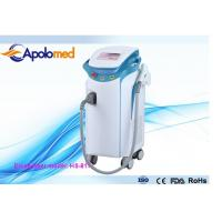 China Vertical 808nm Diode Laser Hair Removal Machine With Sapphire cold cooling on sale