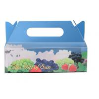 China Brown Cardboard Packaging Boxes With Offset Printing , Cardboard Gift Boxes wholesale