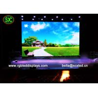 China Large Energy Saving RGB Led Screen P5 For Government / Entertainment Project commercial advertising led display wholesale