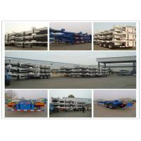 China BPW FUWA Axles Flatbed Chassis Semi Trailer Truck Casting Steel ISO Container Twist Lock on sale