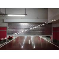 China Automatic Galvanized Industrial Garage Doors Heavy Duty Steel Roller Shutter Door For Underground wholesale