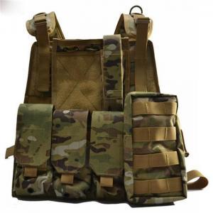 China Military Level 2 Bullet Proof Vest , Light Bulletproof Tactical Vest wholesale