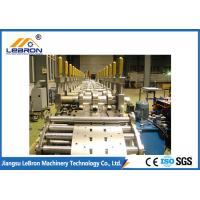 China Servo Guiding Device Cable Tray Roll Forming Machine Long Time Service PLC Control wholesale